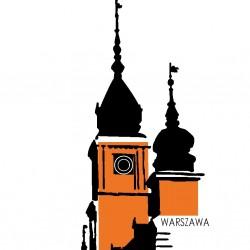 Karta pocztowa Zamek Królewski